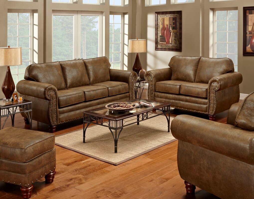 American Furniture Classics Sedona 4 Piece Living Room Set